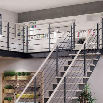 Escalier à l'anglaise bureaux professionnels